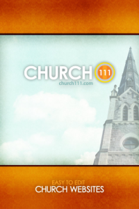 Church111 mobile app welcome screen